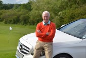 Brian Sewell with the Mercedes C220